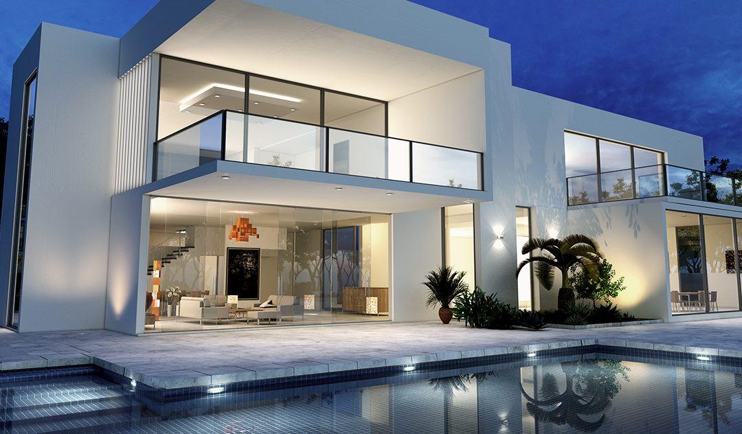 Luxo e sustentabilidade no projeto de casa de campo