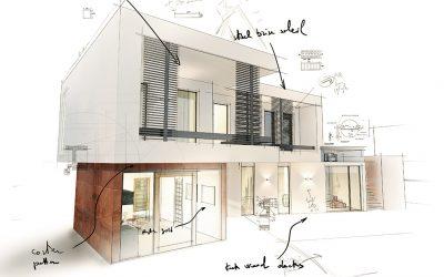 Como planejar a fachada de uma casa de campo?
